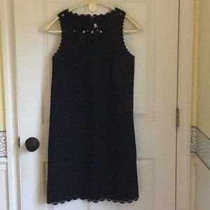 Sleeveless little black dress